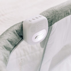 Bassinet light that is attached onto the charcoal bassinet