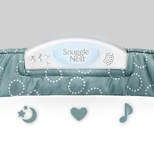 Snuggle-nest-surround-XL_Sea-Green-Rings_Light