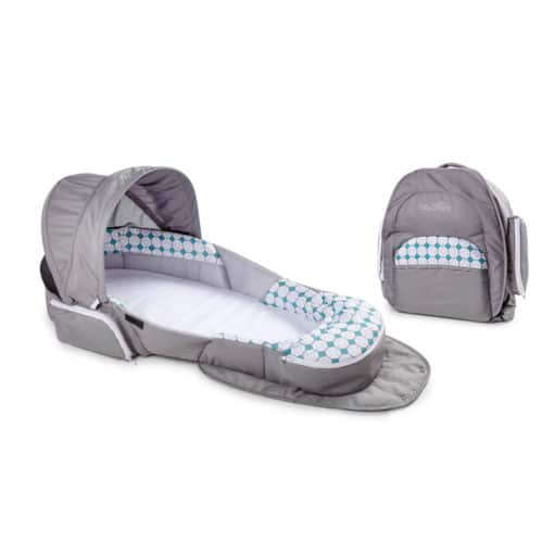Snuggle Nest Traveler BL Infant Sleeper – Diamond Lattice