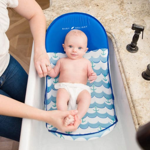 Cushy Nest Lite Deluxe Infant Bather - Anchors Away