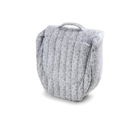 Baby Delight Snuggle Nest Grey Scribbles Fashion