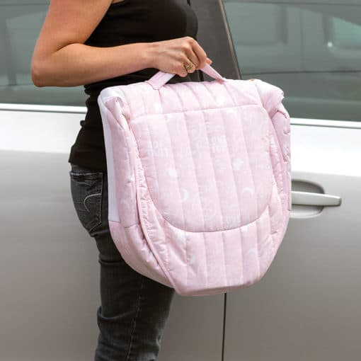 Baby Delight Pink Baby Love Snuggle Nest Carry Case