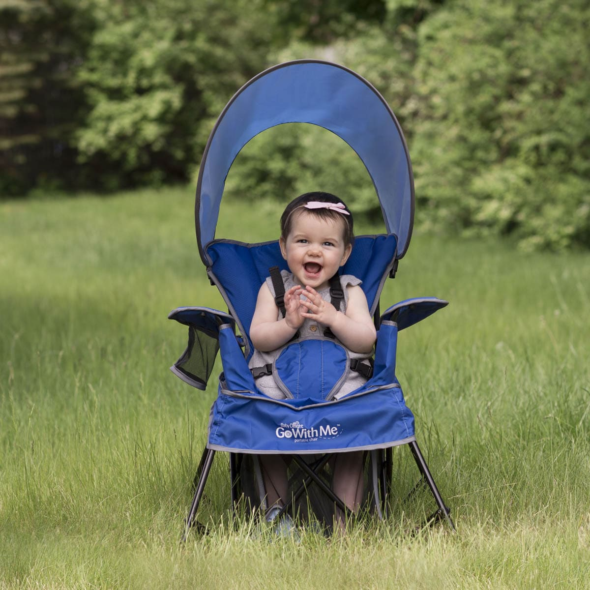 Baby Delight Go With Me Chair Gray BD5030 Swings & Bouncers