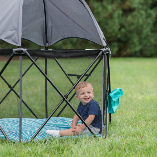 Go With Me Eclipse Portable Playard outside