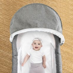 Go With Me Slumber Bassinet and baby