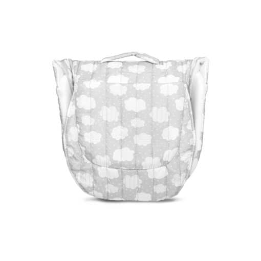 Snuggle Nest Harmony Portable Infant Sleeper - Silver Clouds
