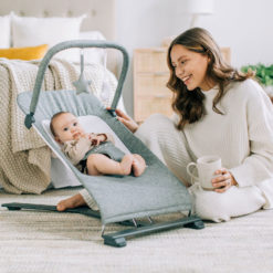 Baby Delight Alpine Bouncer and Baby