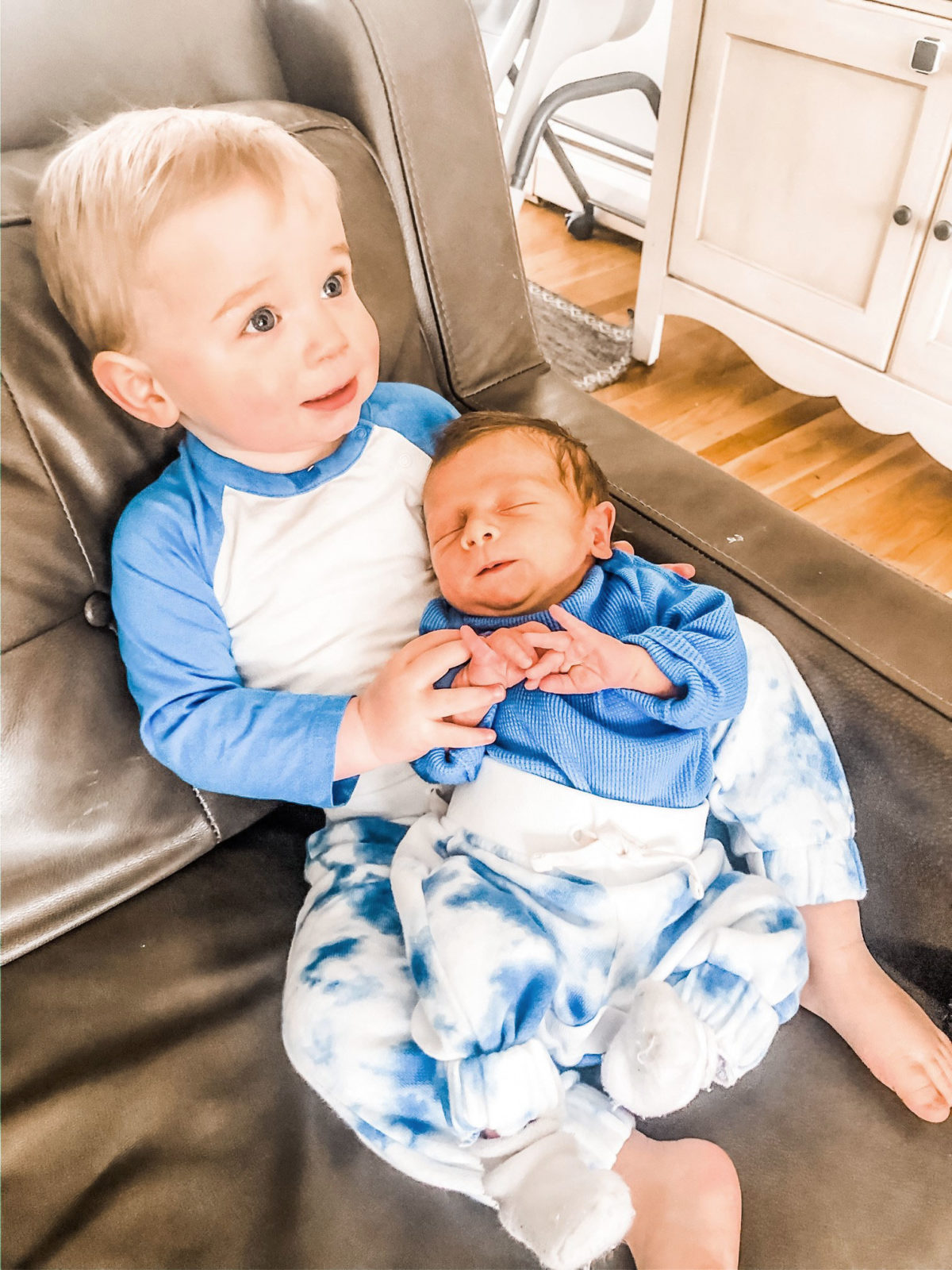 Boy and Baby