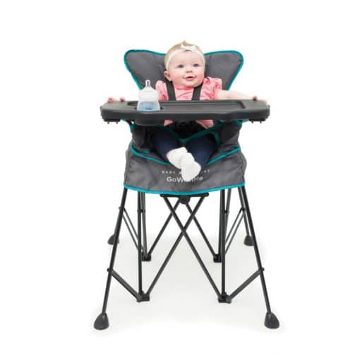 go with me uplift portable high chair baby